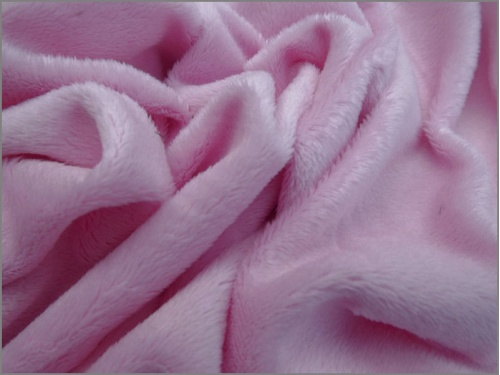 Mini Long Pile Pastel Pink 3mm pile