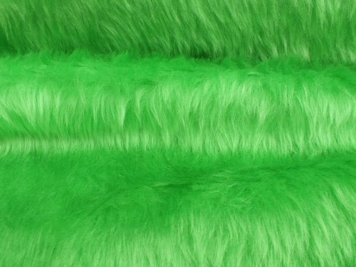 Lime Green Plain 14mm pile