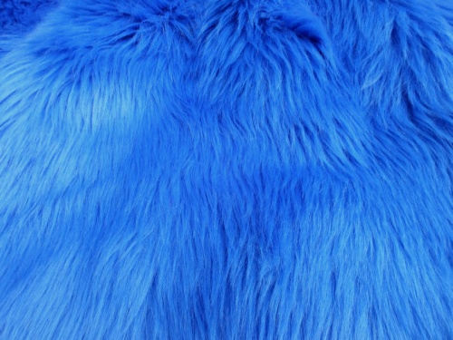 Mohair Bear Making Supplies Limited Royal Blue Luxury